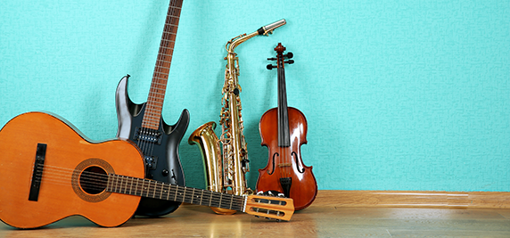 Music Instrument Storage