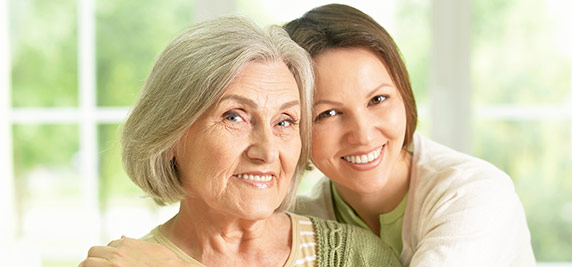 Moving Elderly Parents - Mother and Daughter